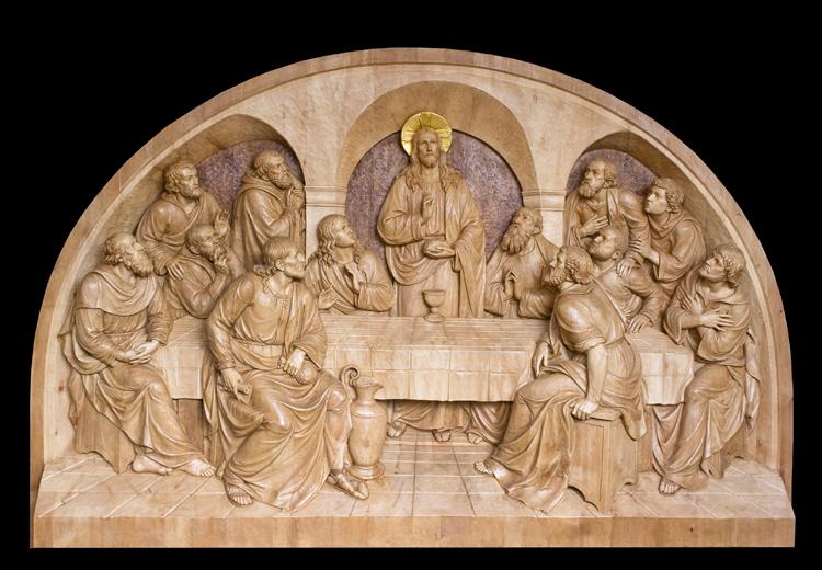 Ferdinando perathoner statues christian art